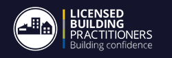 Licensed building preactitioner logo